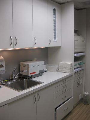 Office photo of lab area