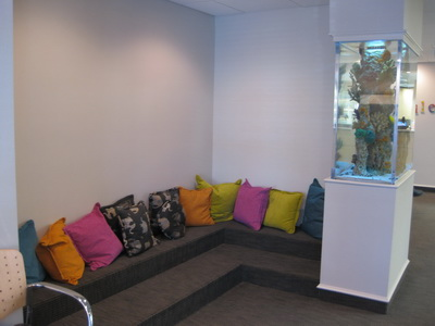 Office photo of waiting area